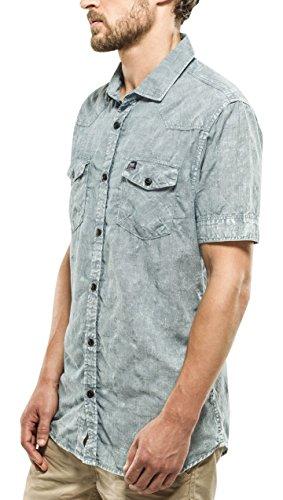 PETROL INDUSTRIES Shirt Ss, Chemise à Manches Courtes Homme 501