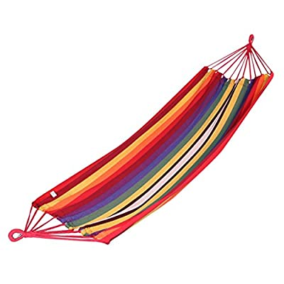 MMM& Outdoor Camping Play Speicher Farbe Bar Canvas Hängematte 200 * 100cm von ohshop - Gartenmöbel von Du und Dein Garten