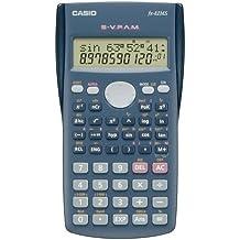 CASIO FX-82MS wissenschaftlicher Taschenrechner / Schulrechner zweizeilig mit 240 Funktionen, Batteriebetrieb