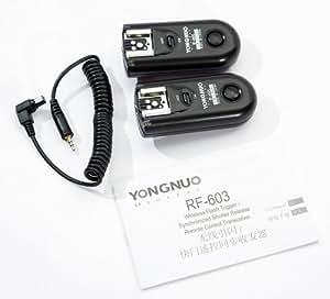 Yongnuo RF-603 C1 Sans fil Telecommande Radio Trigger flash pour Canon 60D 300D 400D