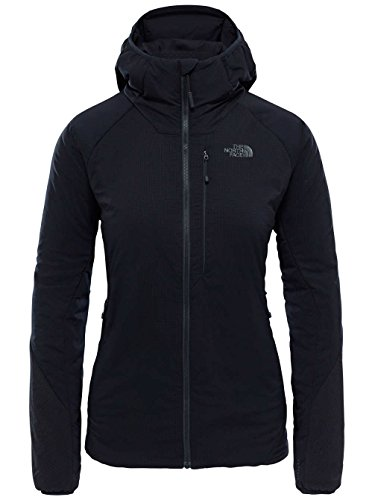 North Face W VENTRIX Hoodie - Sweatshirt für Damen, Grau - (HIGH Rise Gry/VISTULA BLU)