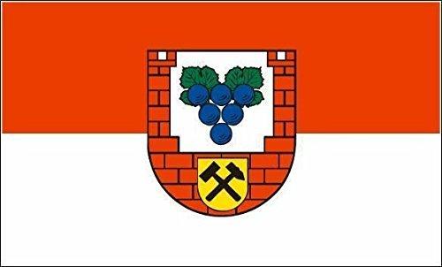 Aufkleber Köthen Flagge Fahne 8 x 5 cm Autoaufkleber Sticker