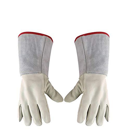 Kryogene Handschuhe Wasserdichte Schutzhandschuhe Flüssigstickstoff, Rindsleder Warm Und -