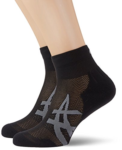 Asics Herren 2PPK Cushioning Socken, Performance Black, 43-46 (Asics Running Socken)