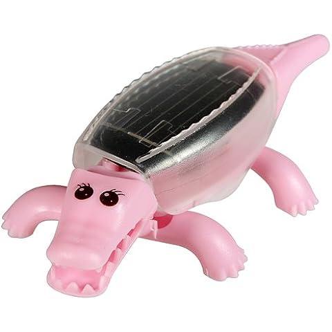 Kit solares de arrastre Mini cocodrilo Juguetes educativos Diversión regalo de los niños.
