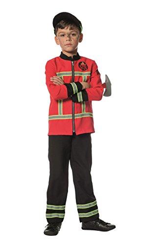 Panelize Feuerwehr Feuerwehrkostüm Feuerwehruniform in vielen Größen (116)