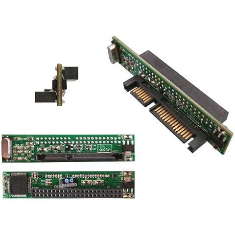 Kalea-Informatique–Convertidor adaptador de Ultra plana–IDE 44Pins 2.5A SATA–permite utilizar un disco IDE de portátil en lugar y Plaza de un disco SATA sobre un portátil o un PC de escritorio