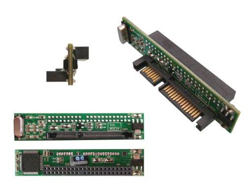 Kalea Informatique Adapter IDE 44Pins 2.5auf SATA, ultra-flach, zur Verwendung einer externen IDE-Festplatte statt einer SATA-Festplatte in Laptops oder Desktop-PCs -
