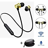 YiGaTech Bluetooth Kopfhörer In Ear Sport V4.2, IPX5 Schweißresistent Stereo magnetischer Sport...