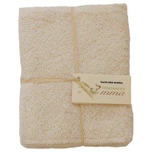 Toalla, cuadrado, lavable, 5unidades) Talla:Biface coton bio