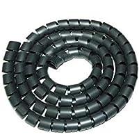Nilox AMLIHC20-B Black Cable Protector–Cable Protectors (Black, 1500x 25x 25mm)