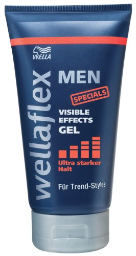 Wellaflex Men Visible Effects Gel ultra starker Halt, 6er Pack (6 x 150 ml)