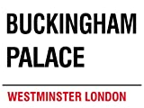London - Buckingham Palace Blechschilder Nostalgie - Grösse 40x30 cm