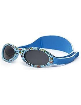Kiddus Sonnenbrille Baby PREMIUM für Jungen und Mädchen | Alter 0 Monate bis 2 Jahre | MIT WEICHEM SILIKON, POLARISIERTEN...
