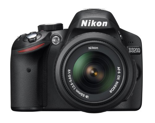 Nikon D3200 Slr With 18-105 Mm Lens Red