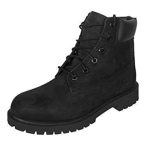 Timberland - Premium Boot - Mixte Junior, Noir (Black), 37.5