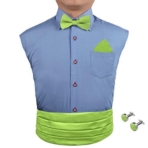 EIA1E01 Mehrfarbiger Silk solider Cummerbund für Mens Geschenk-Fliege eingestellt durch Epoint