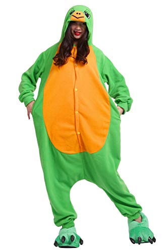 Pyjamas Schlafanzug Erwachsene Cosplay Kostüm Karneval Halloween Schildkröten