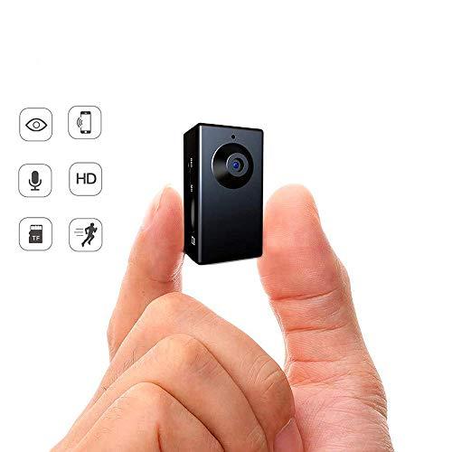 ini Body Camera, kein WiFi erforderlich, Bewegungsaktivierte versteckte Kamera, winzige Spy Cam, einfach zu verwendender tragbarer versteckter Rekorder ()