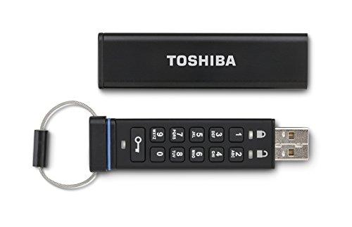 Toshiba 8GB USB 2.08GB USB 2.0black USB Flash Drive–USB-Sticks (USB 2.0, USB 2.0, Type, Cap, Black, 256-bit AES)