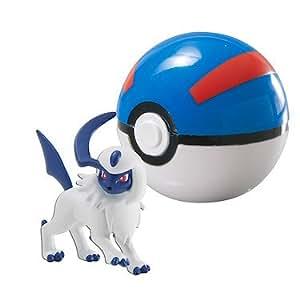 Pokémon – Clip 'N' Carry Poke Ball – Absol + Super Ball