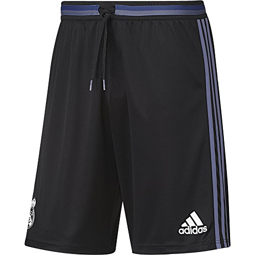 adidas Herren Real Madrid Trainingsshorts, Black/Super Purple, L