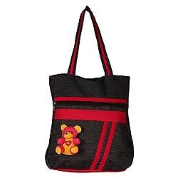 Glory Fashion Women's Stylish Taddy Handbag Black-GF-230