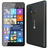 "Microsoft Lumia 535 - Smartphone Telcel libre (pantalla 5"", cámara 5 Mp, 8 GB, 1.2 GHz, 1 GB RAM, Windows),(Importado),Negro"