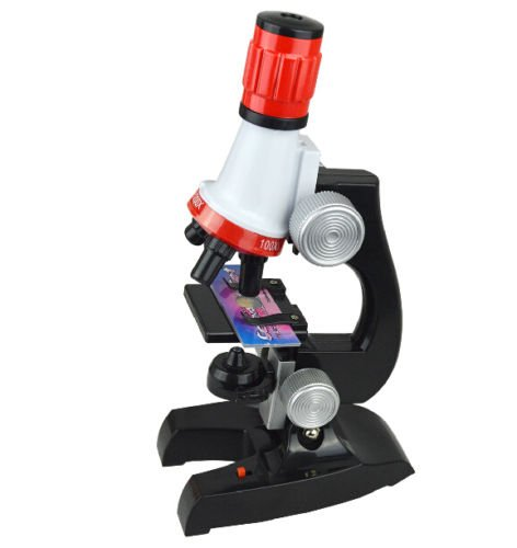 Happy GiftMart Microscope Kit with 100x to 1200x Zoom Refined Chemical Laboratory