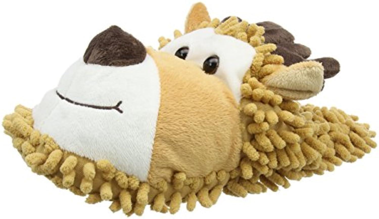 Aroma Home Shoes Reindeer Fuzzy, Zapatillas de Estar Por Casa para Mujer, Marrón (Brown), 40 EU