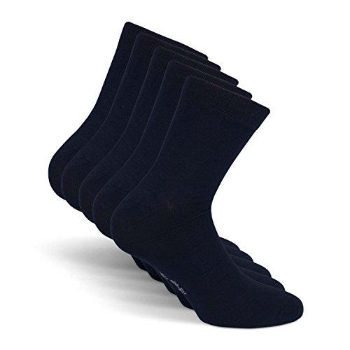 Snocks Damen Herren Business Socken Blau 39-42 Blaue 39-41 40-42 Männer Maenner Damensocken 100 Baumwolle Gr. Gr Größe Baumwollsocken Anzugsocken Anzug 38-40 Frauen