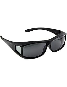 Gafas de sol superpuestas ACTIVE SOL para hombres | Gafas de sol superpuestas UV400 | polarizadas | Gafas polarizadas...
