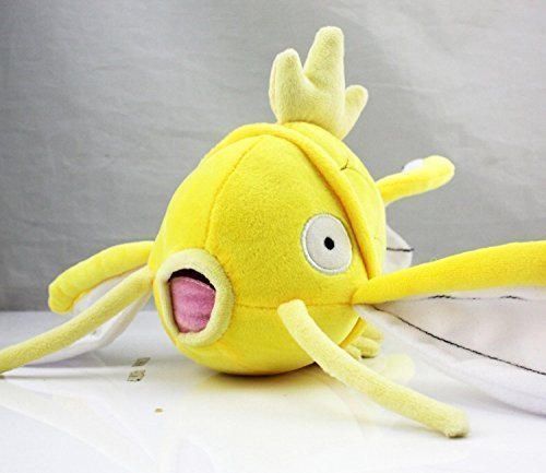 Pokemon Golden Magikarp Fish Anime Animals Plush Plushies Stuffed Doll Toy 8