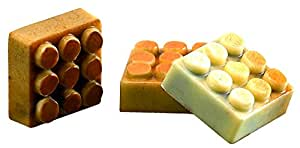 """Moule Pions """"LEGO"""" professionnel. 24 empreintes. 9 g."""