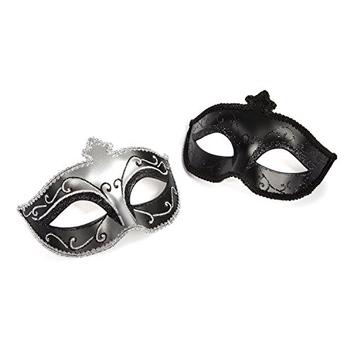 Fifty Shades of Grey on Masquerade Maske Twin Pack
