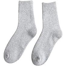 OPAKY 10 pares 5 Colores Calcetines de los Hombres Térmica Casual de Algodón Suave Deporte Calcetín