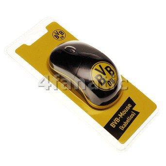 Preisvergleich Produktbild BVB 16641100 Maus Kabellos schwarz / gelb