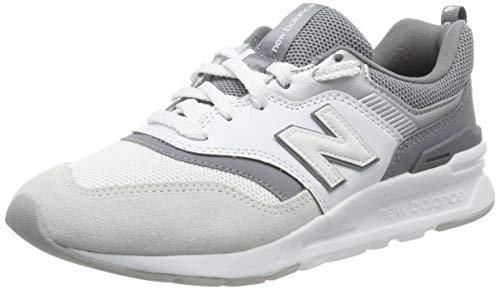 New Balance Damen 997H Sneaker, Weiß (White/Gunmetal Ed Blue), 36.5 EU