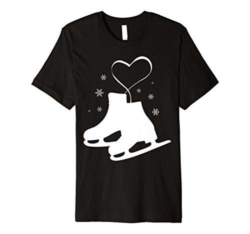Mädchen Schlittschuh mit t-shirt, Skater-Design)