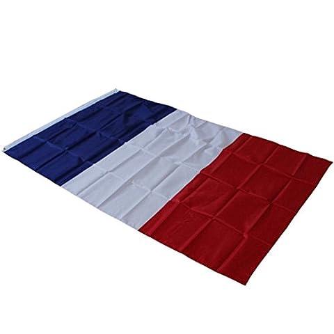 Tapete,OHQ Garten Flagge Großbritannien Spanien Frankreich Deutschland Kanada Flagge 5ft x 3ft Dekoration (C)