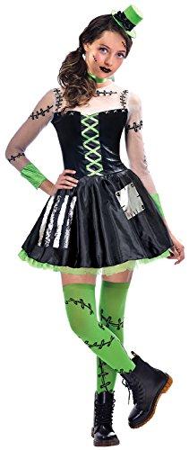 amscan Freaky Frankenstein Mädchen Kostüm Halloween Untot Monster Teenager Kinder - Freaky Zombie Kostüm
