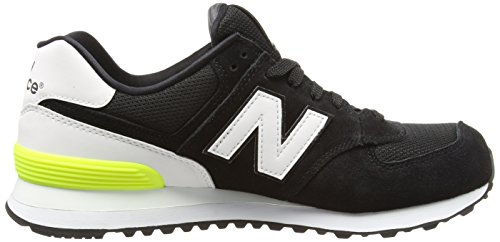 New Balance Wl574cna, Sneakers basses femme Noir (Black)