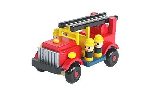 Orange Tree Toys : voiture des pompiers en bois
