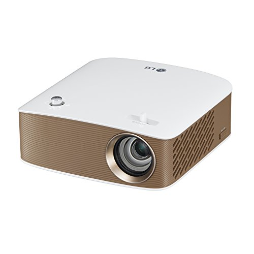 Preisvergleich Produktbild LG PH150G 130ANSI Lumen LCOS 720P (1.280x 720) tragbarer Projektor Gold, Weiß Beamer–Beamer (16: 9, 254–2.540mm (10–100), AC/Akku, 4:3, 100.000:1, LCOS)
