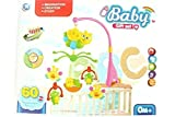 #8: New Honey Bee And Cartoons Series Musical Baby Cradle Hanging Toys Rotating Music Cradle Toy - New born baby Revolving Cradle Toy Set