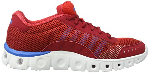 K-Swiss Performance X Lite Athletic Cmf, Chaussures de fitness homme Rouge - Rot (JESTERRED/FIERYRED/BRILBLUE)