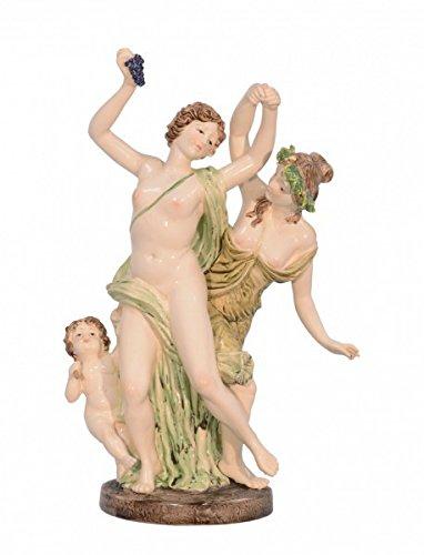 Ellas-Wohnwelt Décoration de Table en Porcelaine Motif Danseuse 47 cm