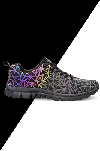 Zakti Rainbow Illumination Trainers Schwarz