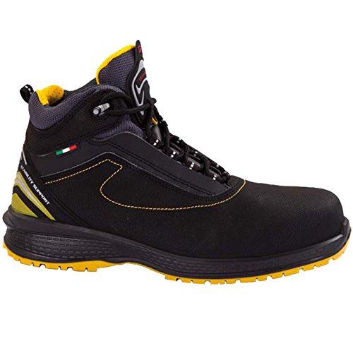 Giasco UP048E43 Libra Bottes à lacets S3 Taille 43 Noir/Jaune