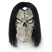 """Darksiders 2""""Morte in lattice maschera con parrucca (taglia unica)"""